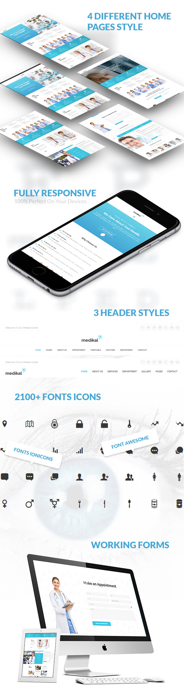 Medikal - Health Care & Medical HTML5 Template